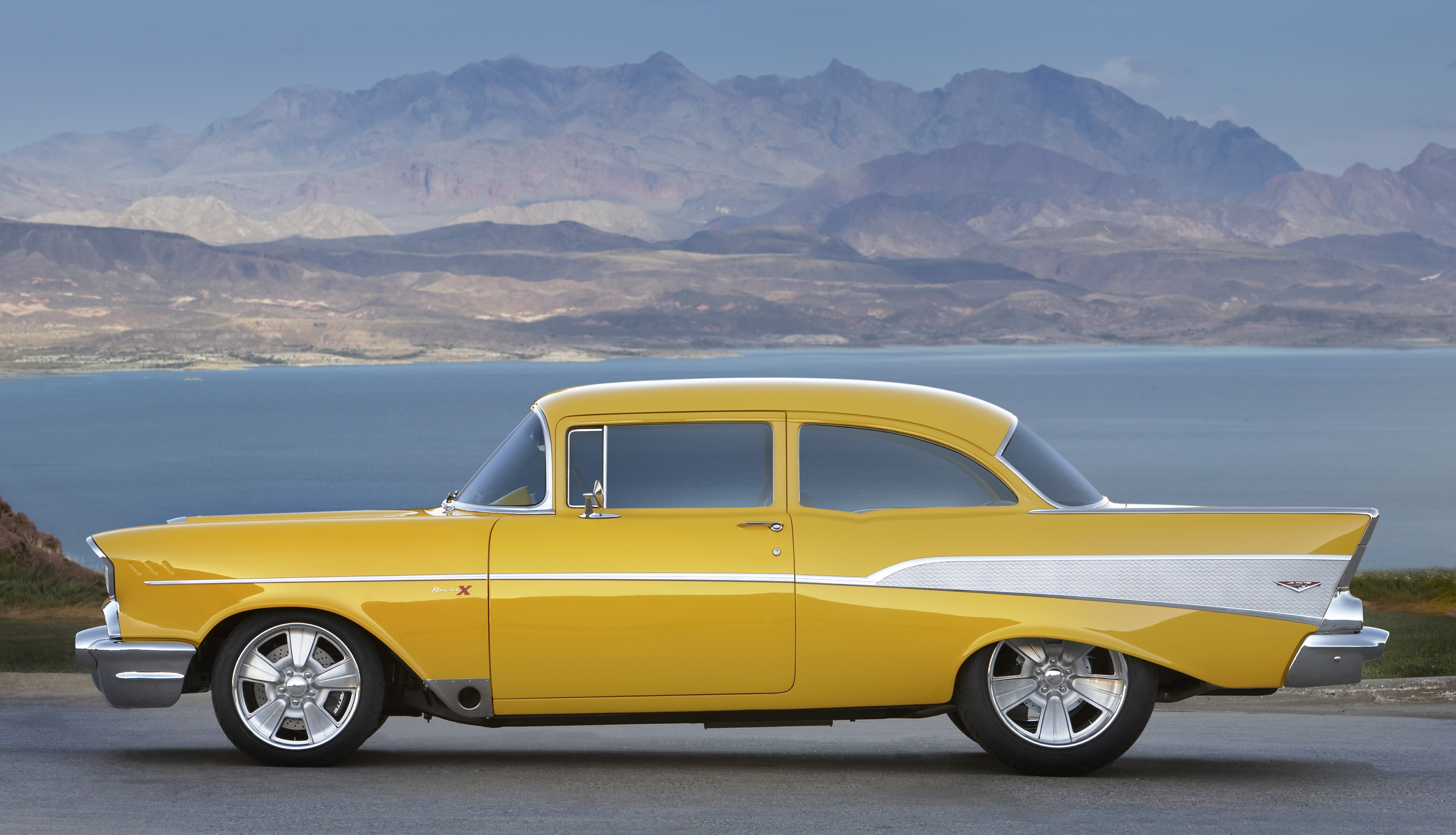 Your Ridiculously Awesome 57 Chevy Bel Air Wallpaper Is Here