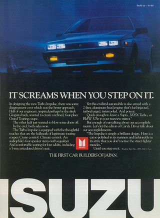 Eulogy For An Isuzu Impulse