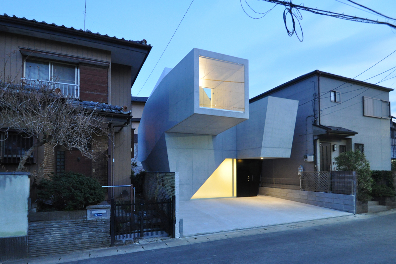 10 japanese kyosho jutaku micro homes that redefine for Japanese minimalist small house design