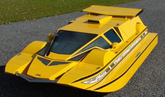 A One-of-a-Kind Amphibious Hydrocar You Can Buy