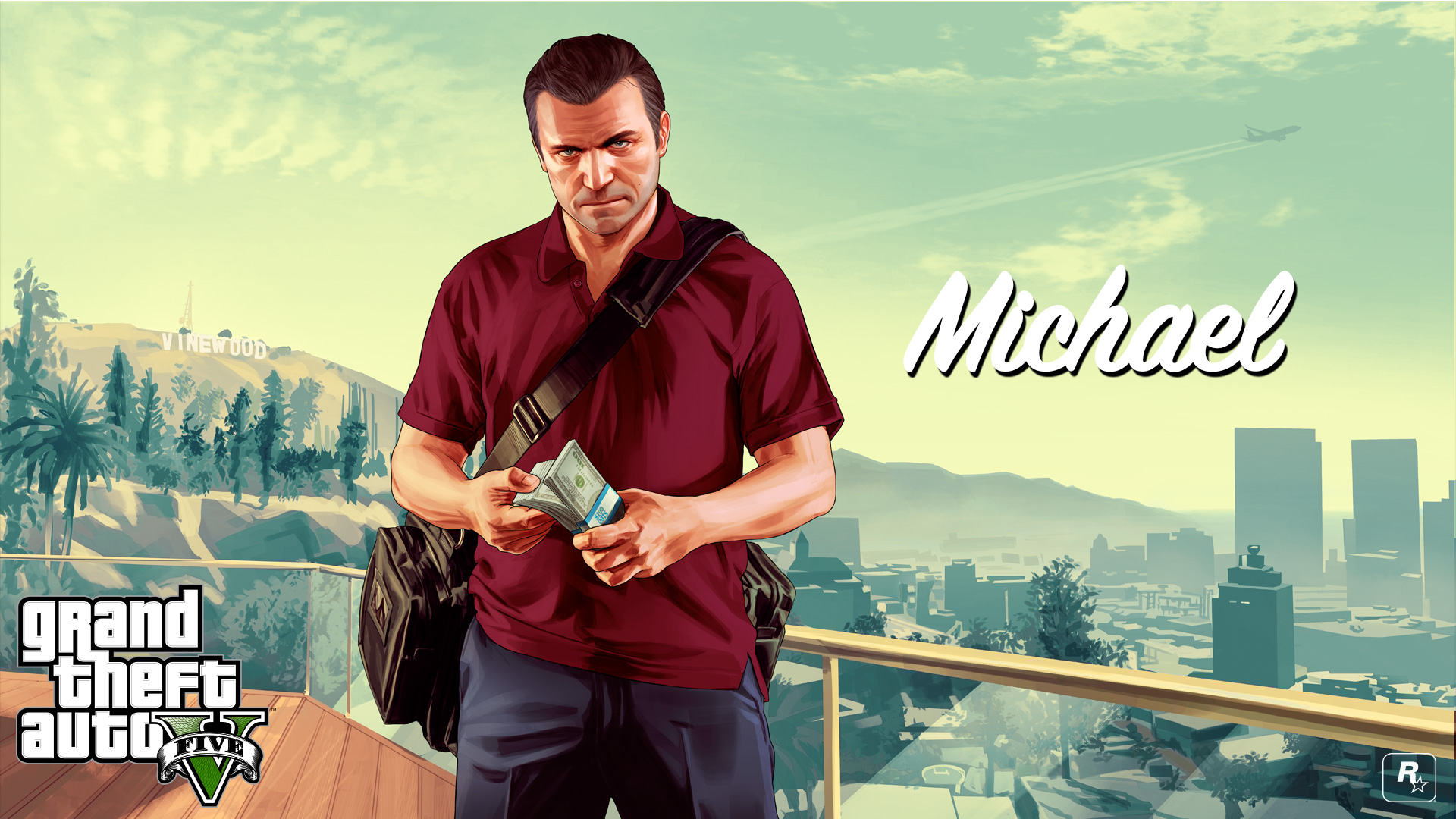 GTA V's Michael, Franklin And Trevor Get The HD Wallpaper ...