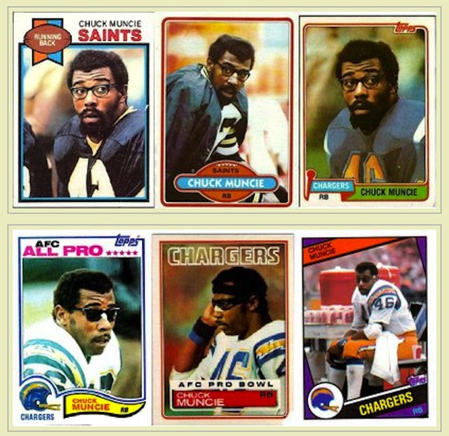 Chuck Muncie, the terrific former Saints and Chargers running b…