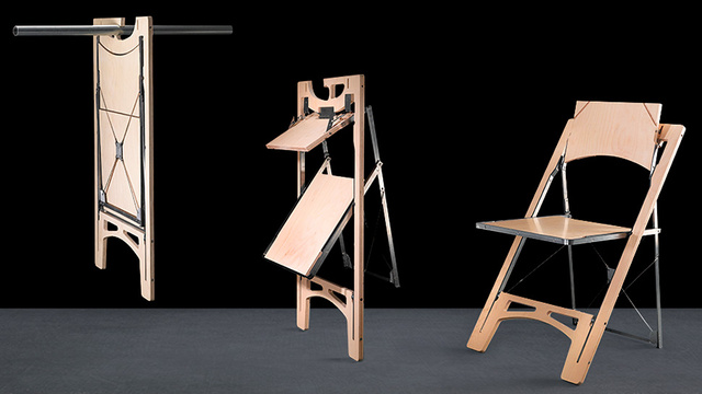 Someone Finally Designed A Folding Chair Thatu0027s Easy To Store | Gizmodo UK