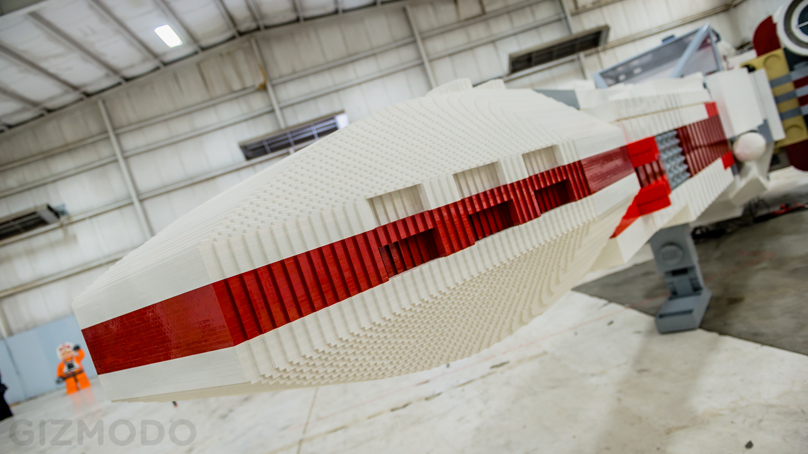 This Incredible Full Scale Lego X Wing Is the st