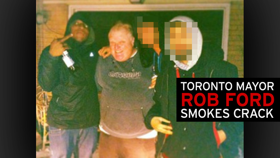 For Sale: A Video of Toronto Mayor Rob Ford Smoking Crack Cocaine