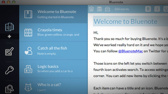 Grab Notes App Bluenote for ...