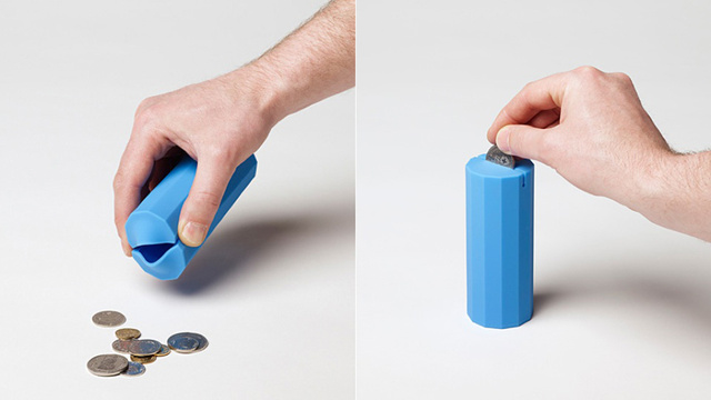 This Silicon Cylinder Is An Acceptable Adult Piggy Bank