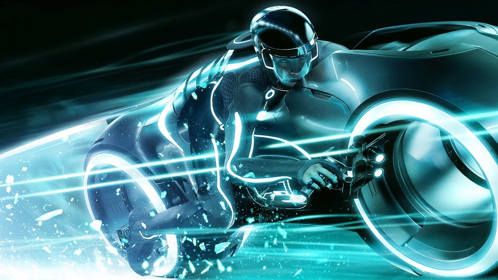 Tron's Lightcycles: 1983 vs. 2010 Model Comparison