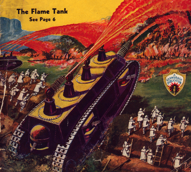 The Horrifying Flame Tank of the 1930s Meant to End All Wars