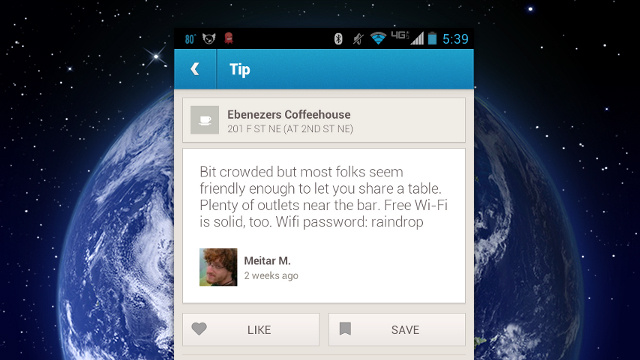 Find Free Wi-Fi Passwords for Local Spots on Foursquare