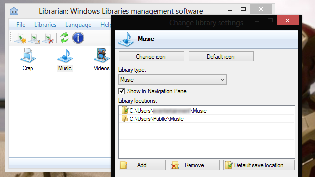 Librarian Makes Windows' Libraries Much Easier to Manage
