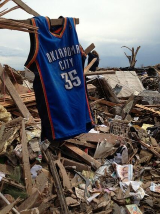 Kevin Durant Donated $1 Million To Red Cross For Tornado Relief