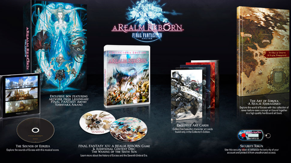k bigpic Final Fantasy XIV Reborn August 27, Gets Another Collectors Edition
