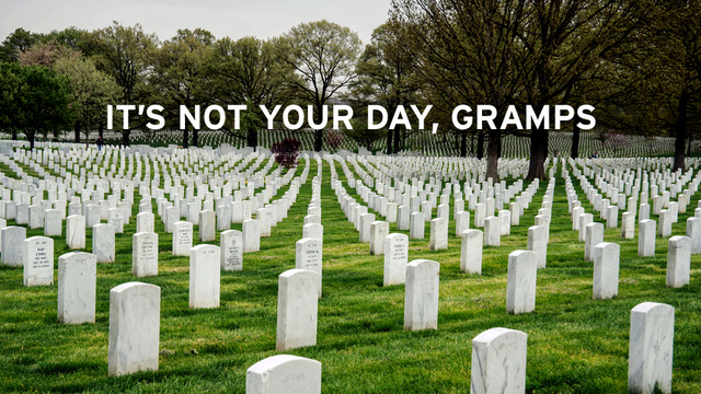 On Memorial Day, Don't Let Living Veterans Steal Glory From the Dead