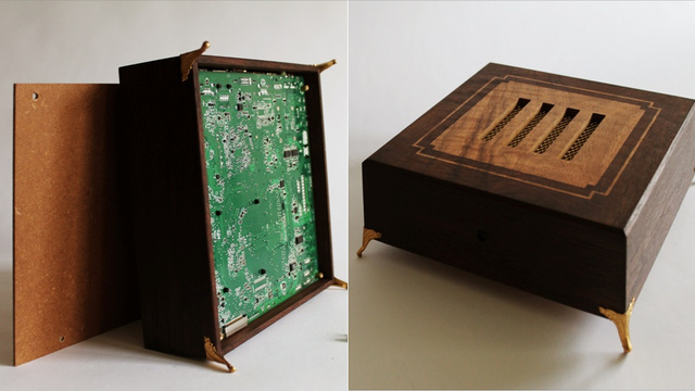 Classic Arcade Games Deserve a Beautiful Wooden Console System