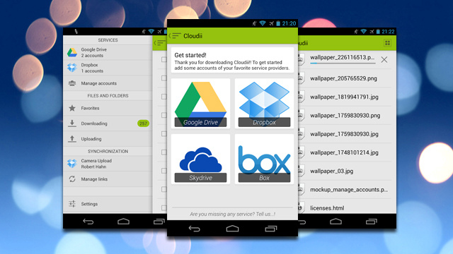 ku xlarge - Manage all of your different storage options in one place on your Android Phone
