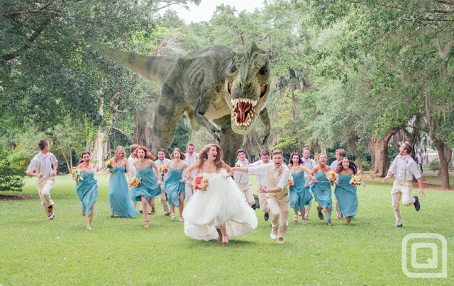 Greatest Wedding Photo In the History of the World