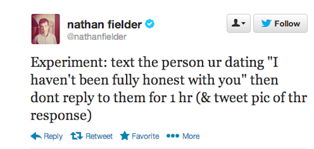 Nathan Fielder's Newest Text-Message Prank Is A Relationship-Killer