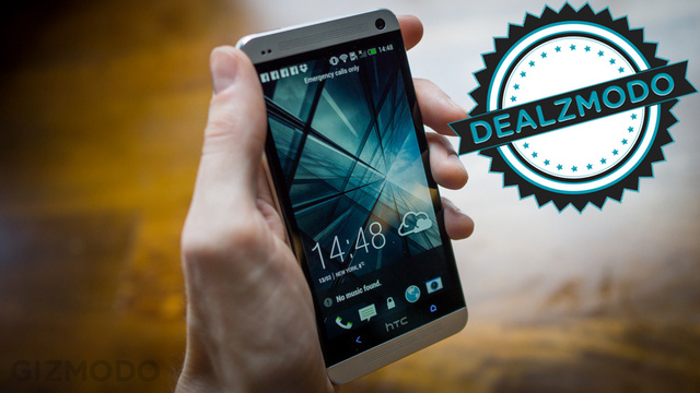 A Cheap HTC One on Sprint Is Your Deal of the Day