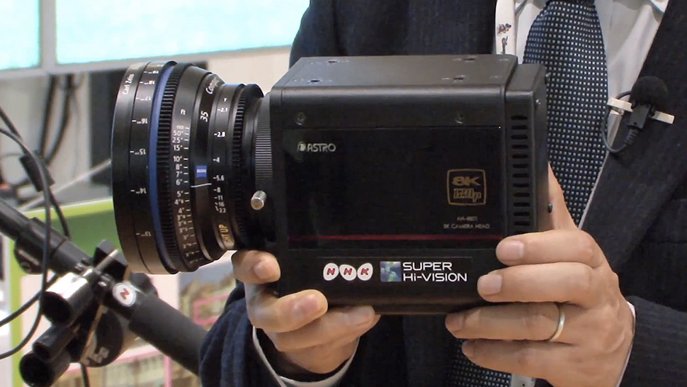 The NHK 8K Compact Camera