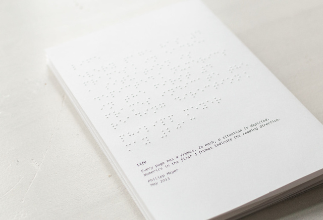 An Interaction Designer Creates a Tactile Comic Book  For the Blind