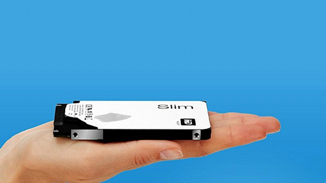 World's Thinnest 1TB Hard Drive: Just 7mm Thick