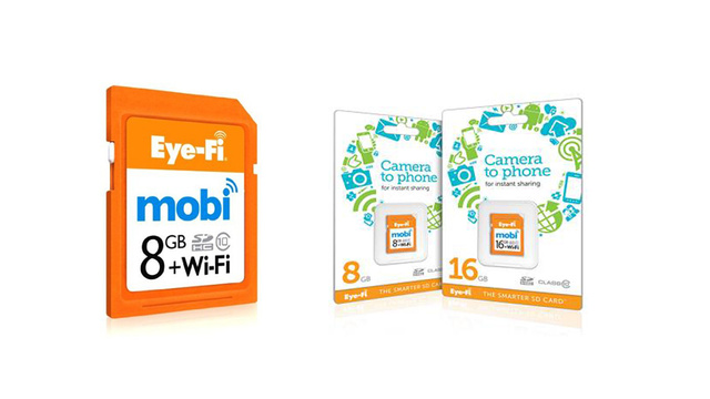 Eye-Fi Mobi Sends Photos to Your Phone, No Internet Connection Required