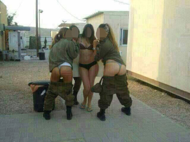 Female Soldiers Defy IDF, Post More Semi-Nude Facebook Pics [NSFW]