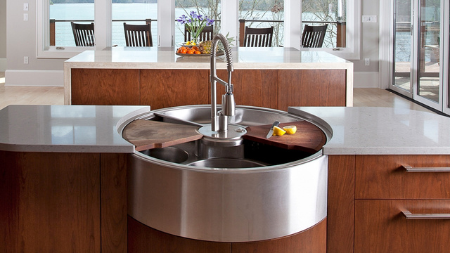 The Private Yacht of Kitchen Sinks Has Room For Weeks of Dirty Dishes