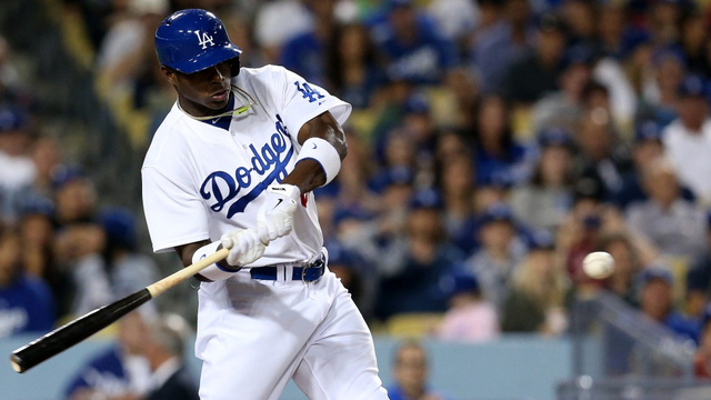 Yasiel Puig Clubs Two Homers In Second MLB Game