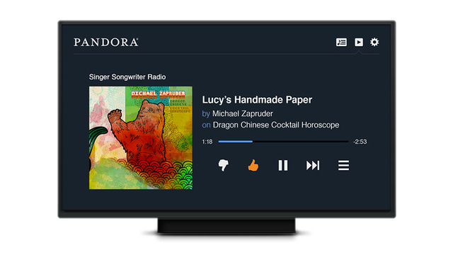 Pandora Ditches PS3 and Xbox 360 Apps For a Special HTML5 TV Interface