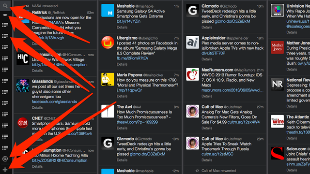 TweetDeck Redesign Hits a Tad Early, and Christina's Gonna Be Pissed