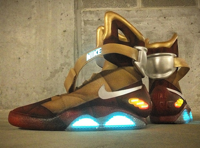 These Armored Nike Air Mags Were Made for Iron Man