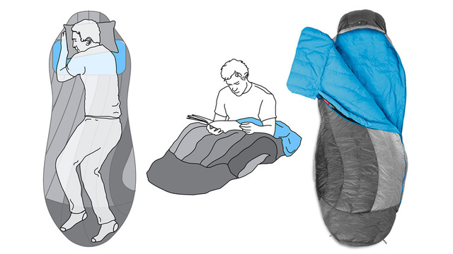 A Simple Design Tweak Makes Sleeping Bags Less Like Straight Jackets