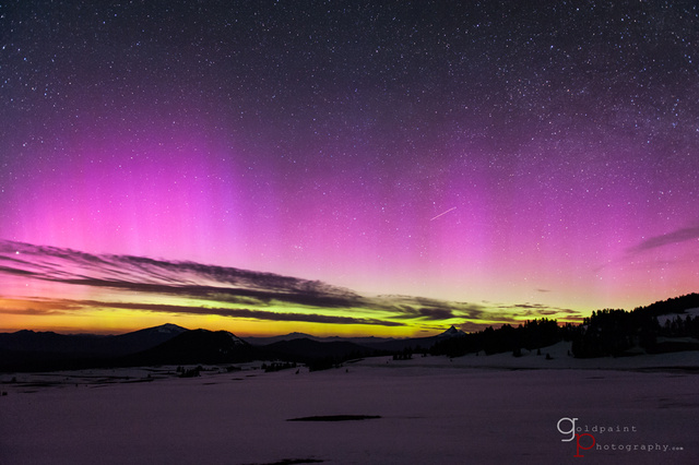 Gorgeous Footage of Last Weekend's Surprise Aurora Borealis
