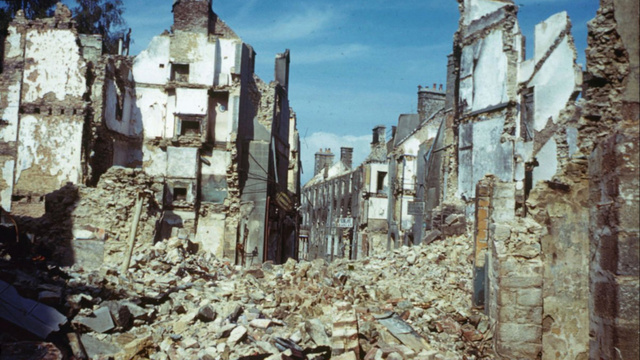 Tour D-Day Normandy's Surreal Destruction in These Rare Color Photos