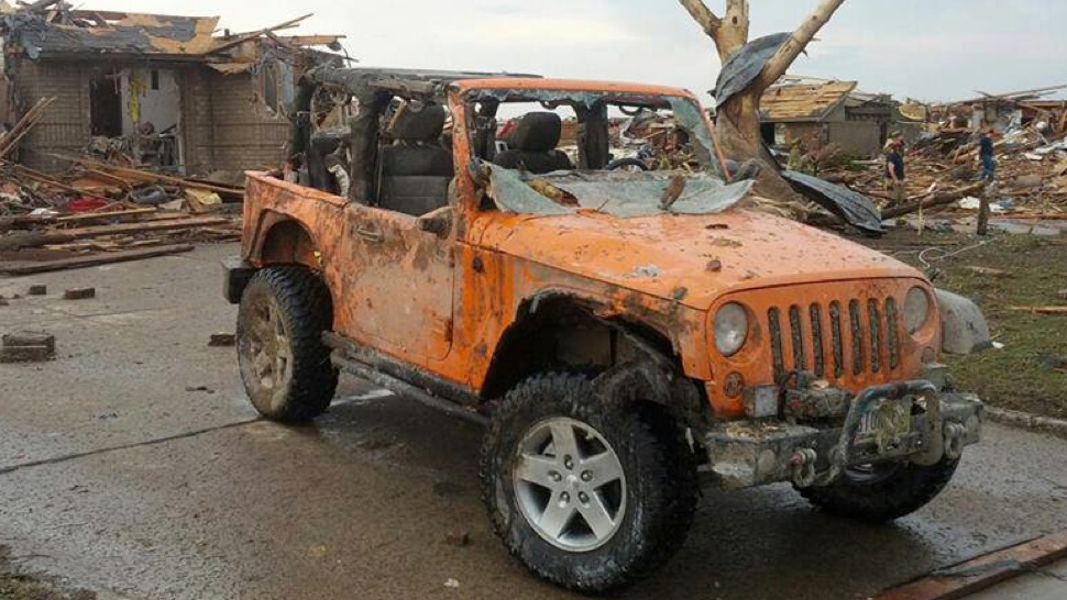 Heroic Jeep That Rescued People After A Tornado Is Getting