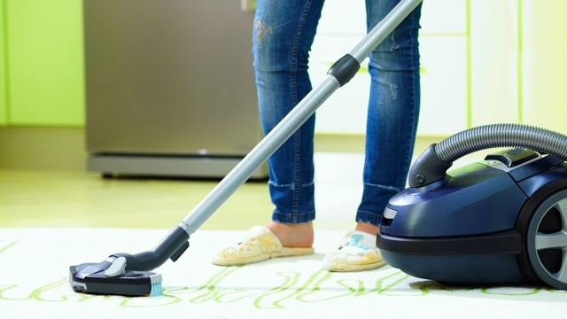 Freshen Up Your Home While Vacuuming with Oils and Cotton Balls