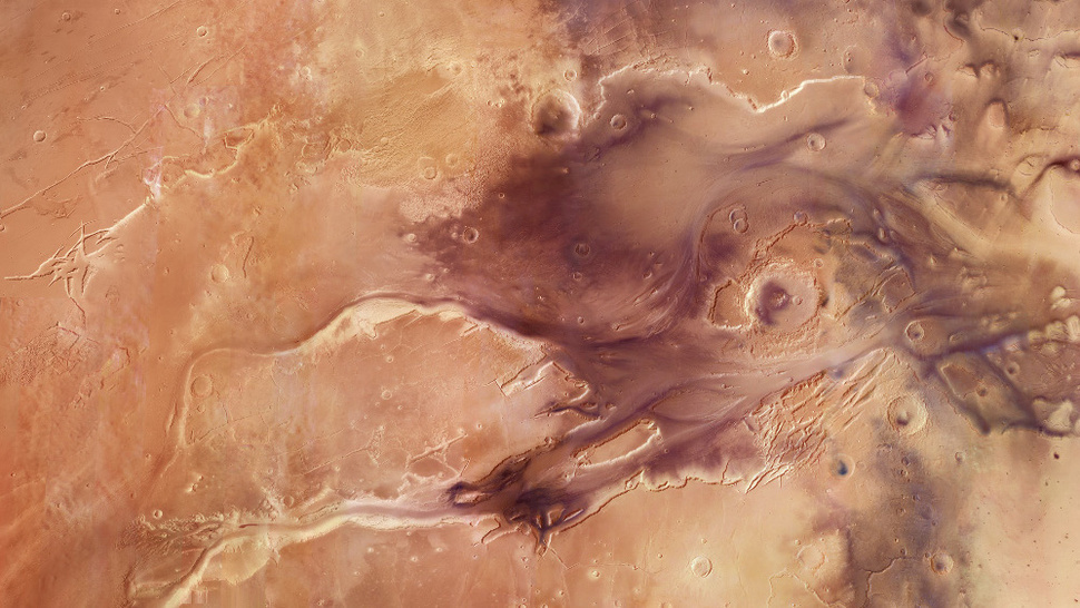 Mars Had an Oxygen-Rich Atmosphere 4 Billion Years Ago