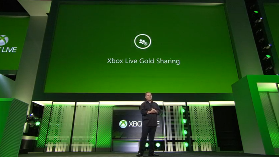 how to share xbox live with family