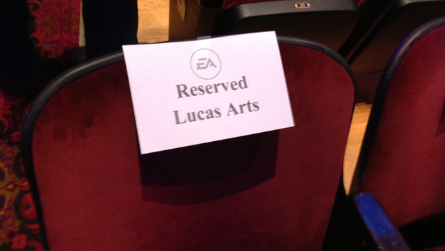 LucasArts Might Be No More, But They're Still At EA's Press Conference