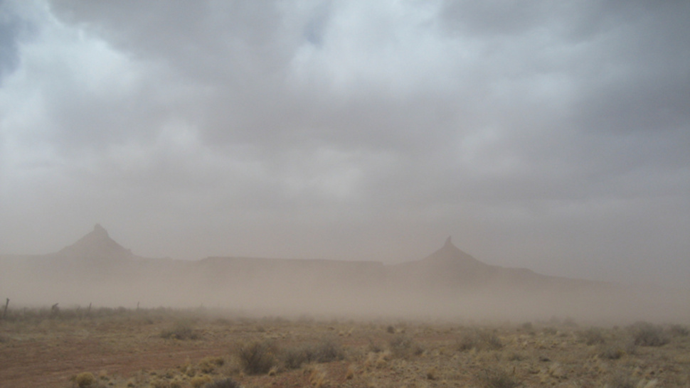 Dust storms are on the rise in the American west