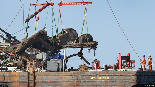 A German Bomber From WWII Has Been Raised From the Dead