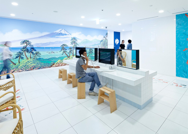 Inside Google Japan's Lovely, Bizarre, Hair-Covered Offices