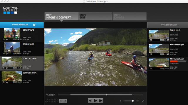 GoPro Studio 2.0 Hands-On: Easier, Awesomer Videos (UPDATE)