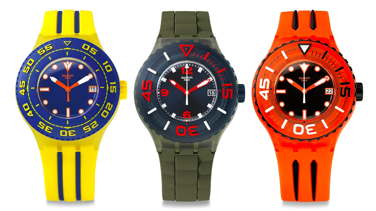 Swatch 39 s dive watches won 39 t take you to the depths of - Swatch dive watch ...