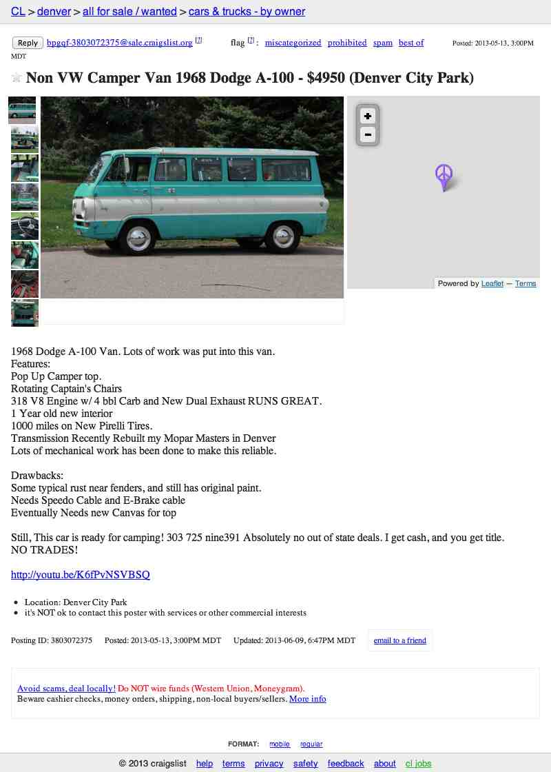 For 4 950 Will This Camper Pamper