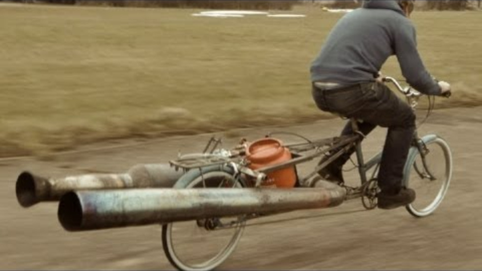 A Jet Powered, Fire Blowing Bicycle Is Not Ridiculous At All
