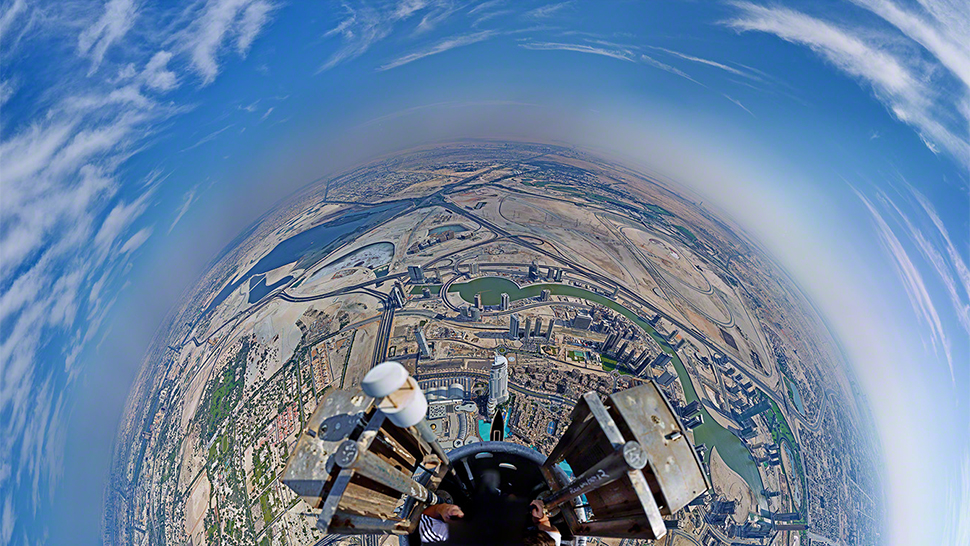 What It Really Looks Like Atop The World S Tallest