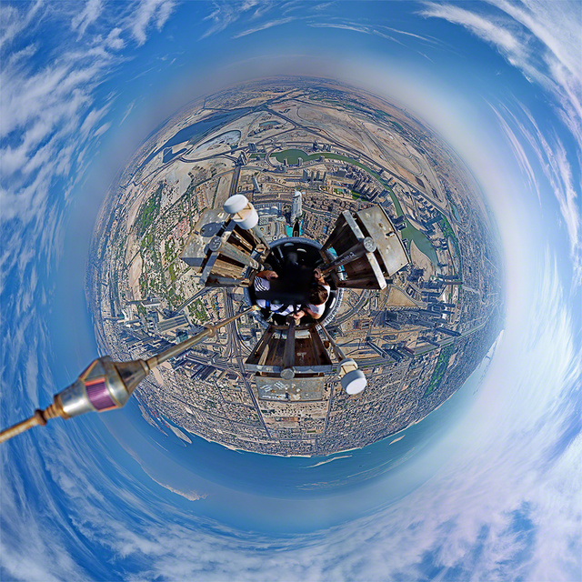 What It Really Looks Like Atop the World's Tallest Building